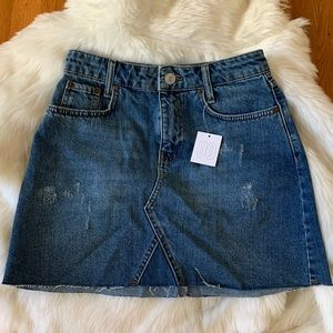 NWT Urban Outfitters Jean Skirt